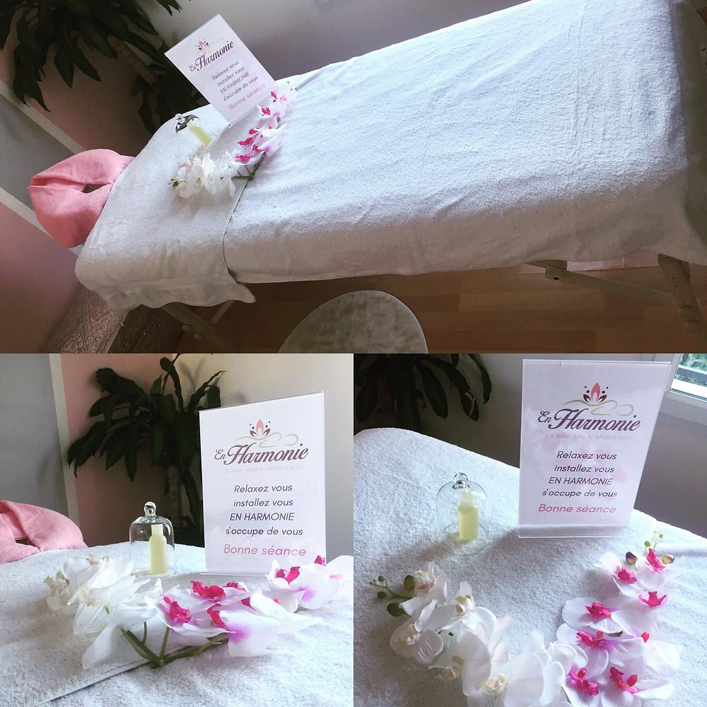 aménagement pièce de massage chez vous