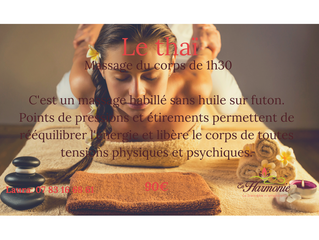 Le massage Thailandais