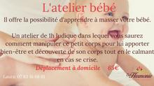 L'atelier massage bébé