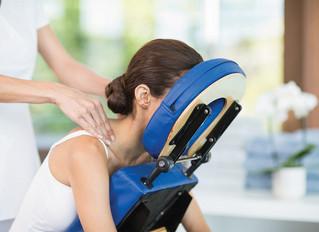 Le massage assis en entreprise