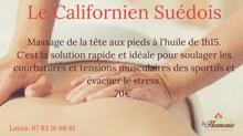 Le massage californien suédois pour qui? pour quel action?
