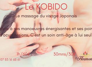 """Le massage du visage """"KOBIDO"""""""