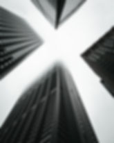 monochrome-photo-of-high-rise-buildings-