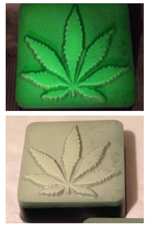 Cannabis Scent ~ Glow in the dark ~ Activated Char