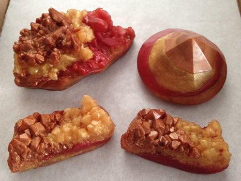 4 Pc. Gemstone Set ~ Lg, Hidden Crystal & 2 Small