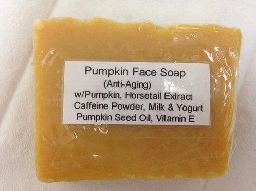 Pumpkin Facial Bar w/ Pumpkin Puree