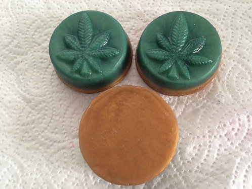 Set of 3 Cannabis Scent Guest or Travel Bars