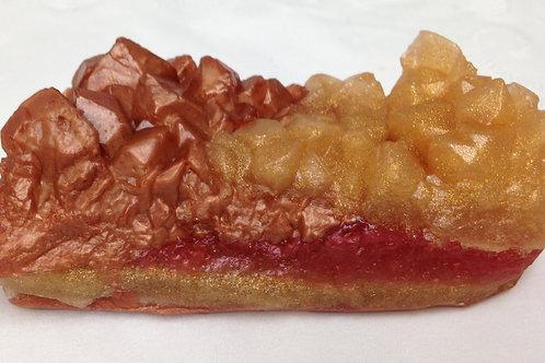 Small Gemstone Soap Scented in Madagascar Vanilla