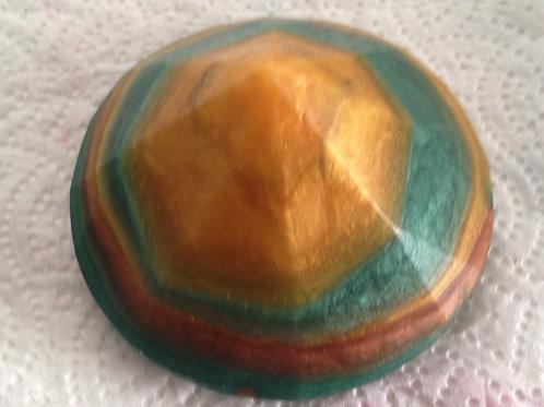 Cannabis Scent Gemstone with Hidden Crystal