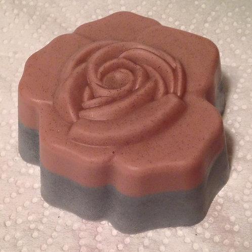Rose Clay & Activated Charcoal Facial Bar