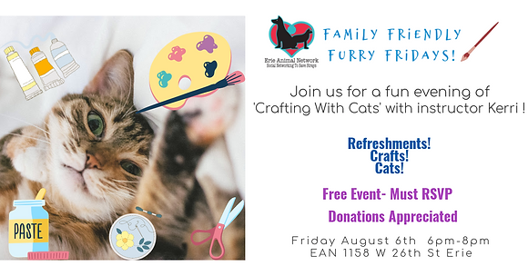 Family Friendly Furry Friday- Crafts With Cats!