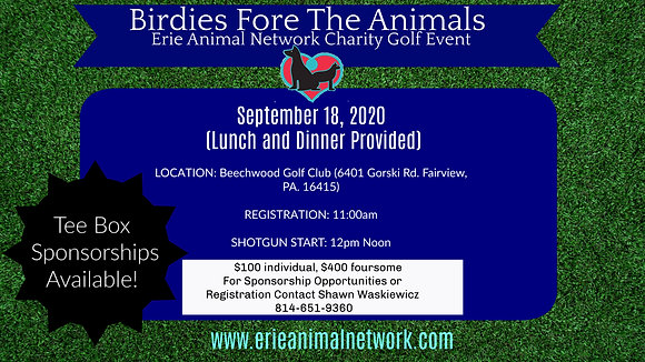 Birdies For The Animals-Foursome Pack