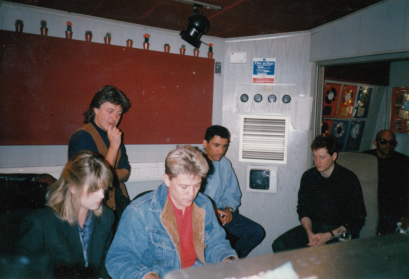with Paul McCarntney & The Christians - Hilsborough Charity Record '89