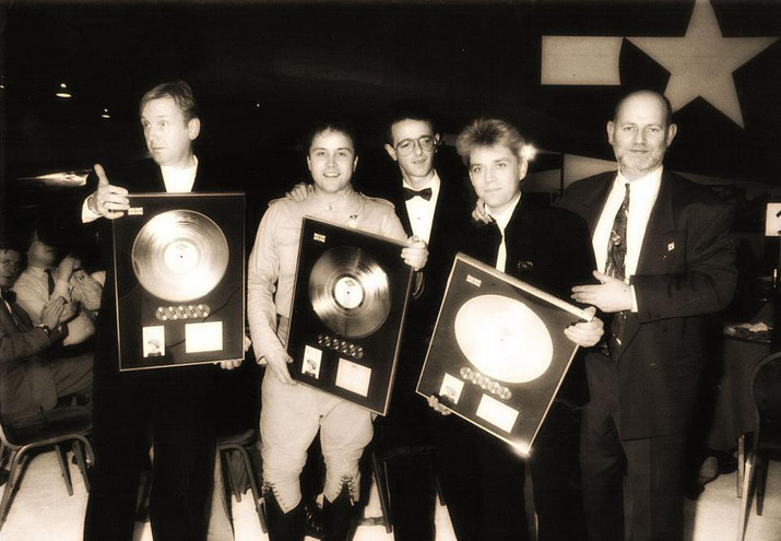 Stock Aitken Waterman with David Howells and Tilly Rutherford