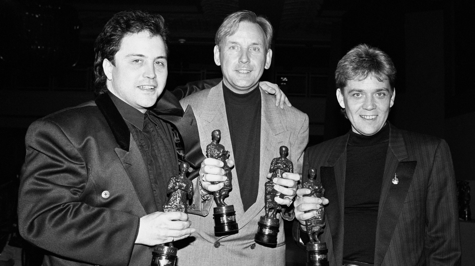 Winning several Ivor Novello Awards