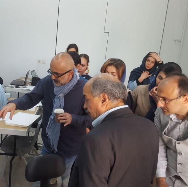 Workshop, Manmemar, Isfehan, Iran