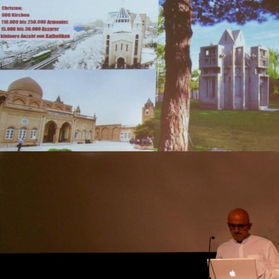 Vortrag Deutsche Architektur Museum, Frankfurt