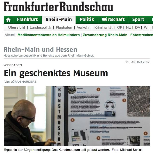Veröffentlichung Frankfurter Rundschau