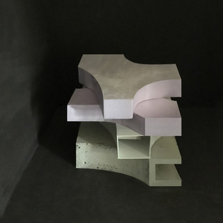 Konzeptmodell Wohnturm