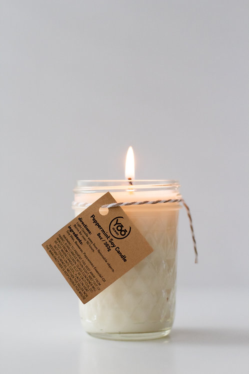 Soy Peppermint Candle
