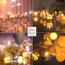 Sevgili Melike ve Eray'ın Crowne Plaza Hotel'de gerçekleşen düğünlerinden masa detayları_Organizaayo