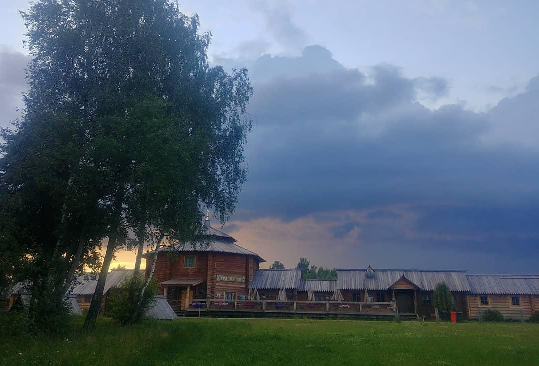 Потрясающий закат на источнике 01.06.20