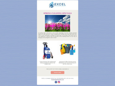 Email #4 - Spring Cleaning Specials With ECG Email