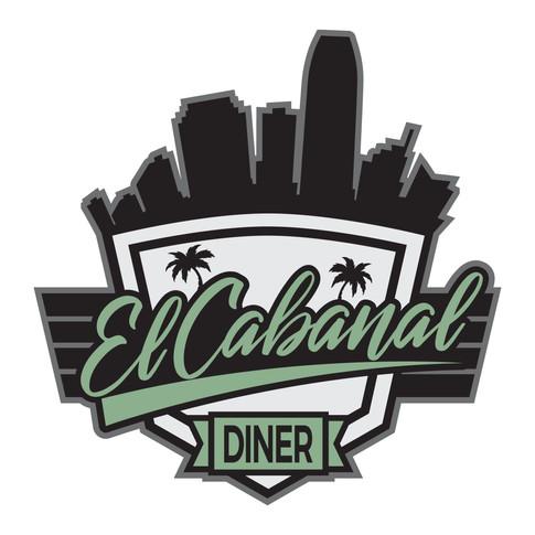 El Cabanal Diner Updated Logo Transparen