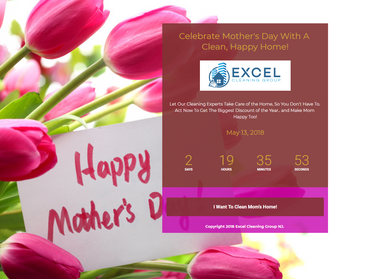 Mothers Day Landing Page Image