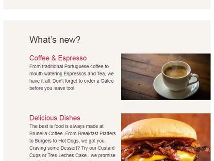 Brunella Coffee Email 1