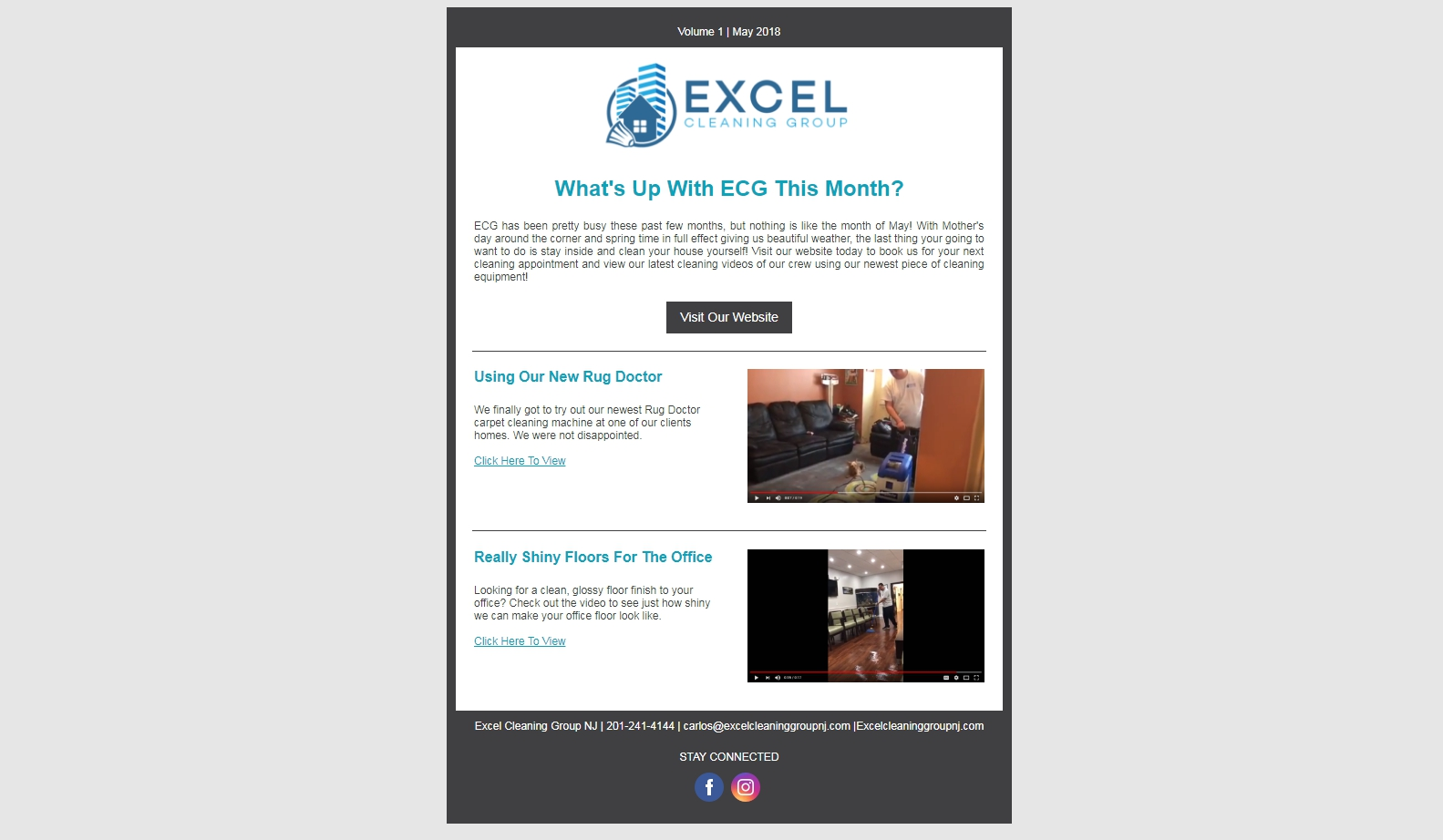 Email #3 - ECG Monthly Video Highlights