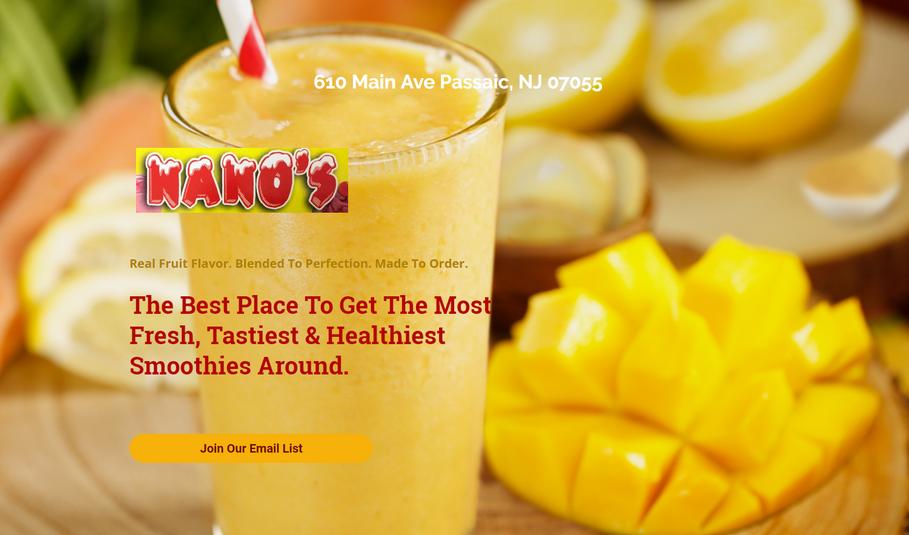 Landing Page #2 - Nano s Creamery   Smoo