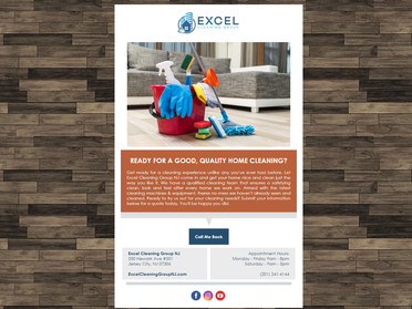 Email #5 - Ready For A Good Quality Home Cleaning Residential Email