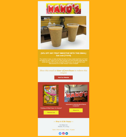 Email #6 - 50  Off Your Fruit Smoothie W