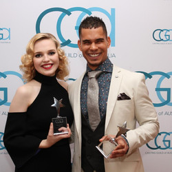 Odessa Young at the Guild Awards
