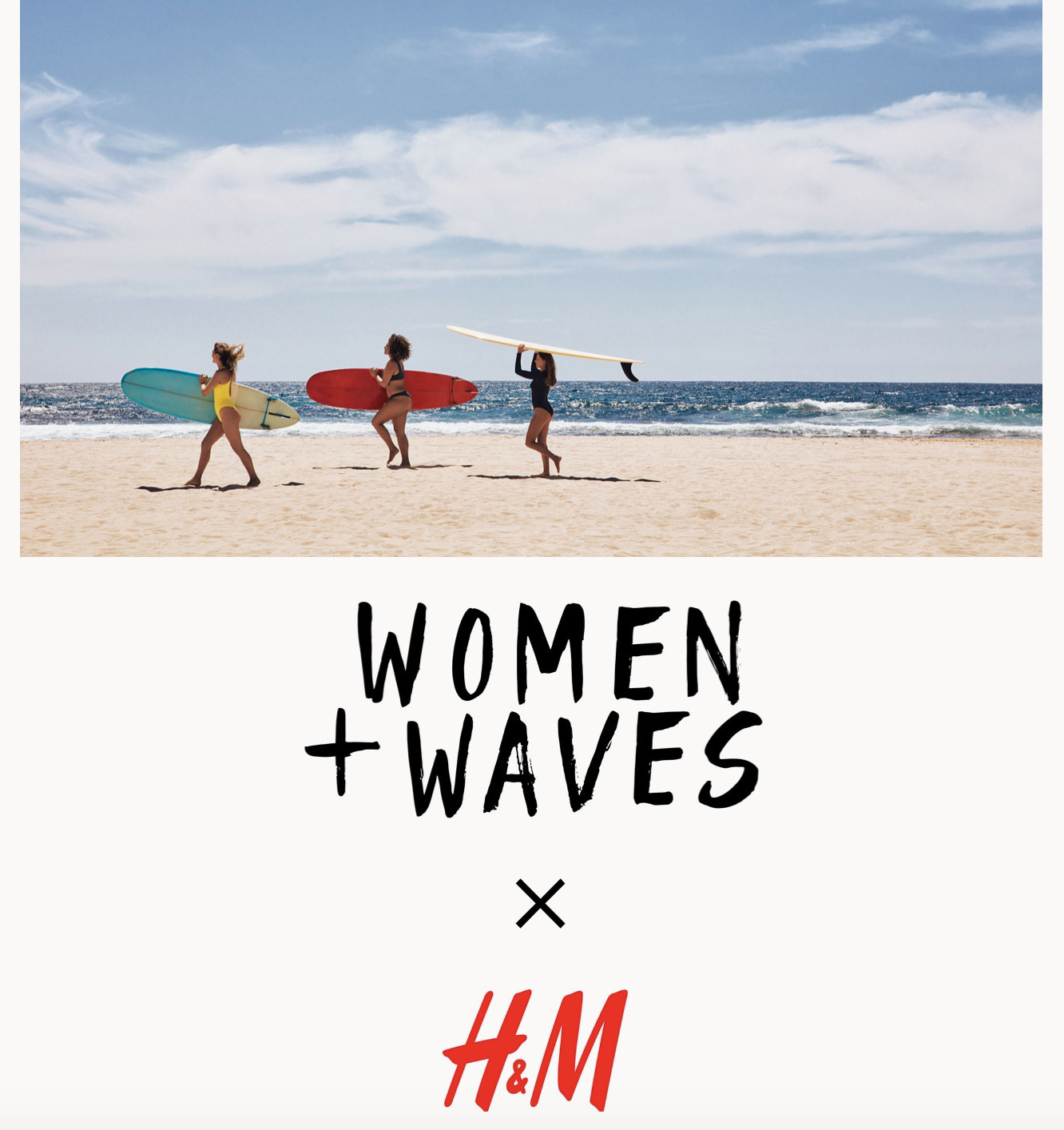 Women + Waves x H&M