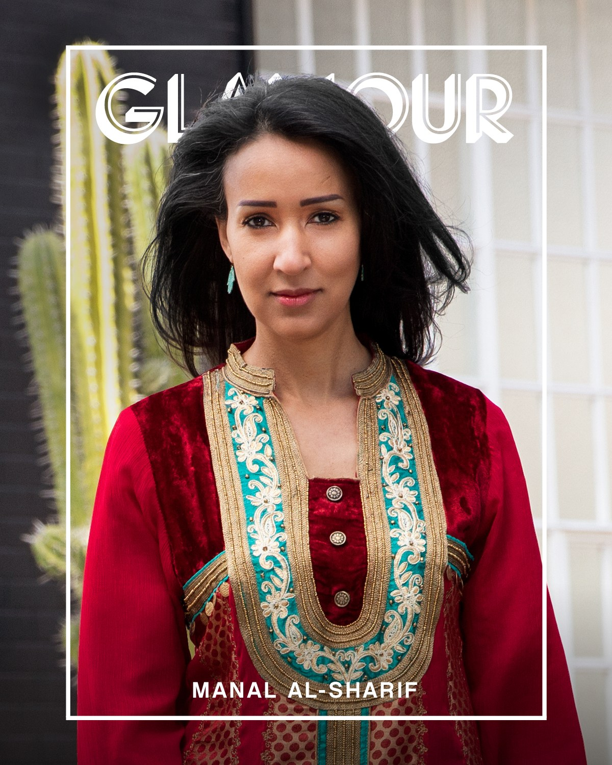 Activist Manal Al-Sharif for Glamour