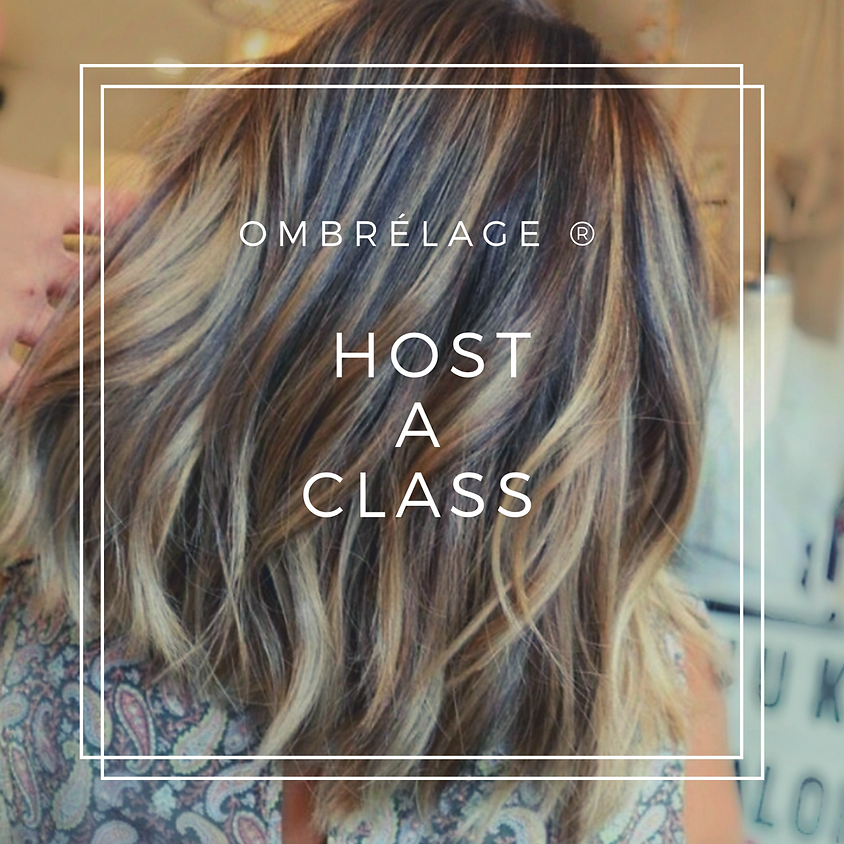 Host an Ombrelage Class at Your Salon