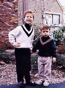 Jesse and Addison as kids
