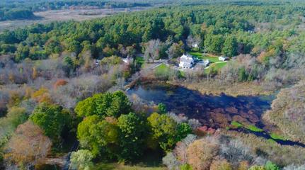 Pudding Brook, east of Stump Pond