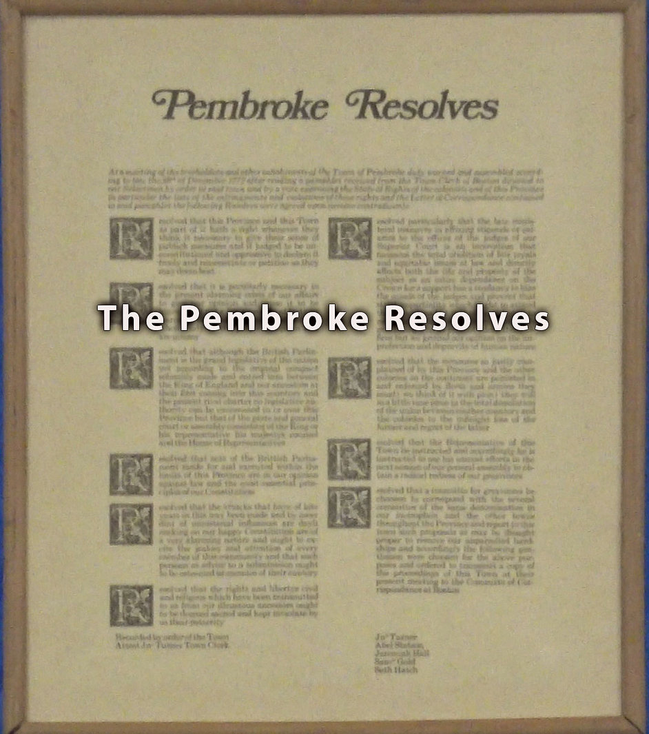 Pembroke Resolves