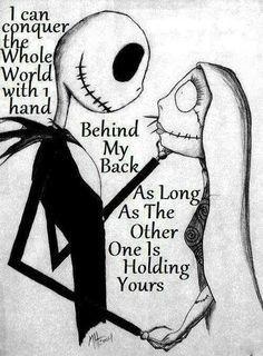 One hand behind my back (Nightmare b4 Xm