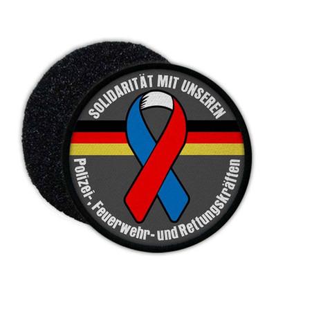 Solidarität mit Einsatzkräften