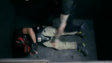 Lee Morrison Elevator Scene