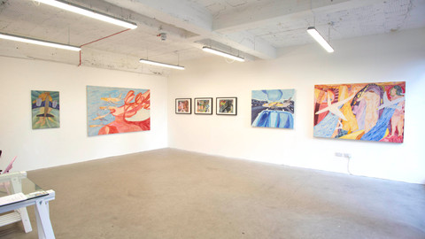 'Mid-Way' Solo Show