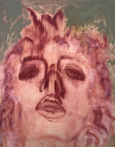 Self-portrait as Narcissus (2020)