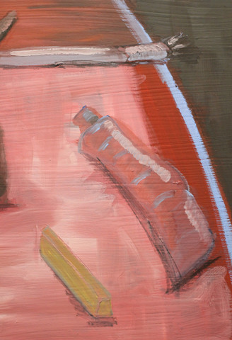 A Painters Table (2020) Detail