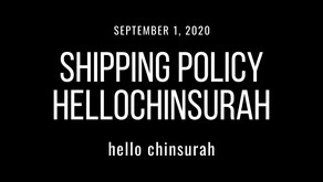 Shipping Policy HelloChinsurah