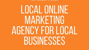 Local online marketing agency for local businesses