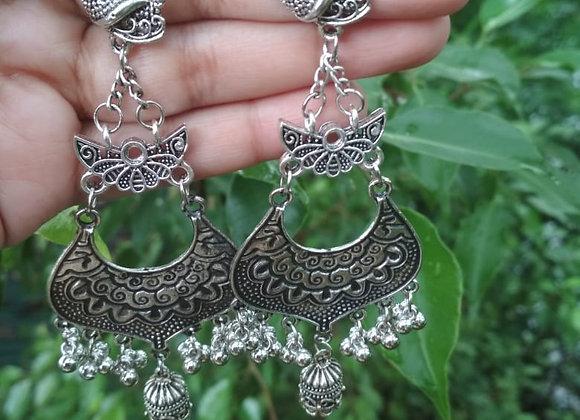 Big Indian Jhumka Earrings